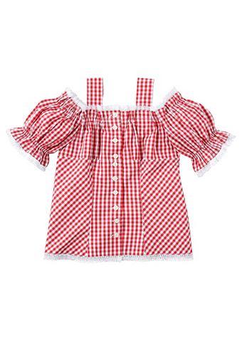 ISAR-TRACHTEN Блузка из национального костюма детски...
