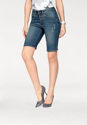Бермуды джинсовые »mit sichtbare...