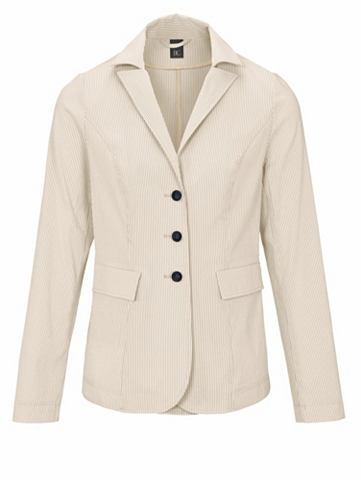 Пиджак полосатый с Reverskragen