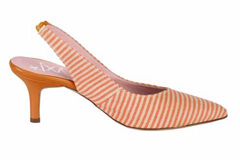 Туфли с открытой пяткой в Streifen диз...