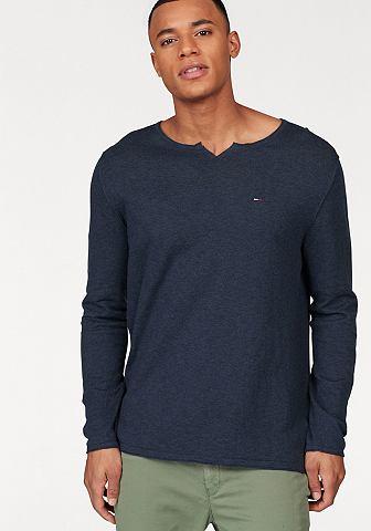 Hilfiger джинсы пуловер с круглым выре...