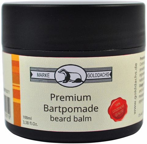 »Premium Bartpomade« wasse...