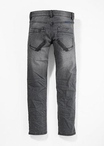Seattle: джинсы стрейч в Used-Look для...