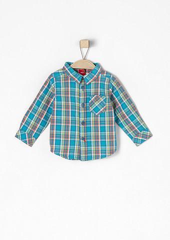 Клетчатый хлопковые рубашка для Babys