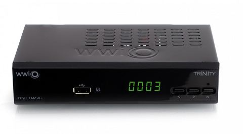 WWIO DVB-T2/C Combo HD-Receiver »TRIN...