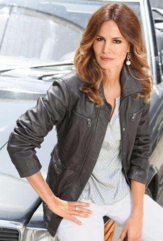 Classic Inspirationen куртка кожаная в...