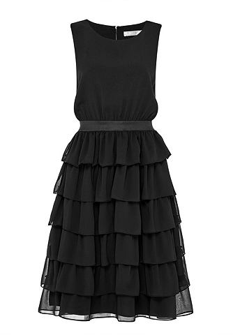 Two-in-One-Kleid с Stufenvolants