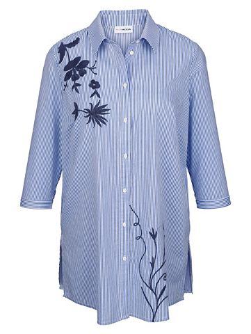 Блузка длинная с вышивка