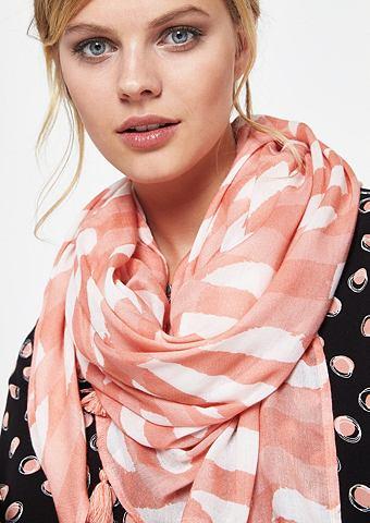 Нежный шарф с abstrakt gehaltenem повт...