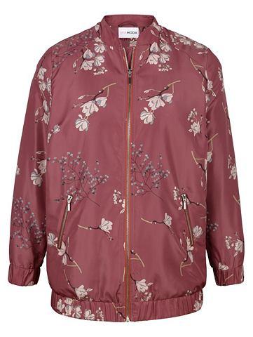 Куртка с цветочный Druckmuster