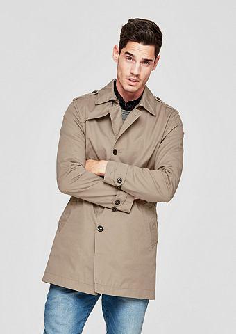 Нежный пальто короткое с ремень