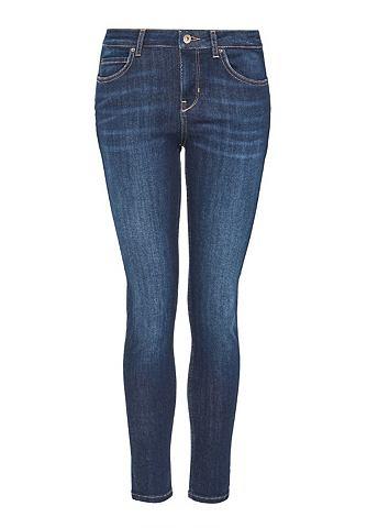 Облегающий джинсы с dunkelblauer имита...