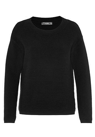 Пуловер с markanter Querrippe