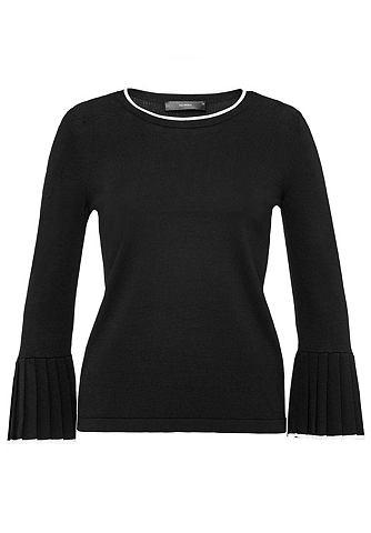 Пуловер с Plissee-Volants