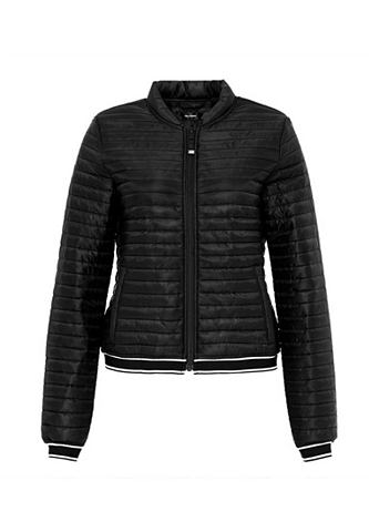 Куртка стеганая с gestreiften манжет