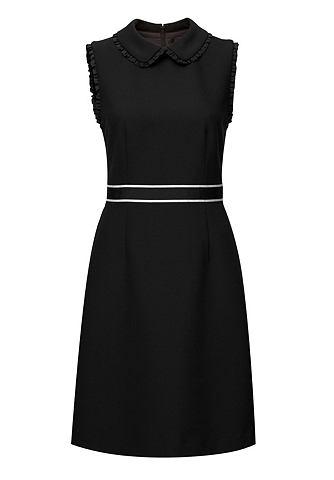 Мини-платье с Bubikragen & оборка