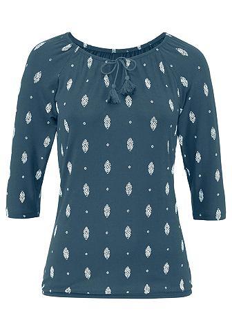 Блуза (2 единицы с украшением на вырез...