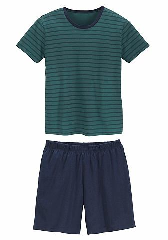 Le брюки пижама короткая