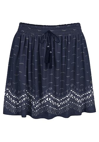 Короткий юбка с Bodürendruck