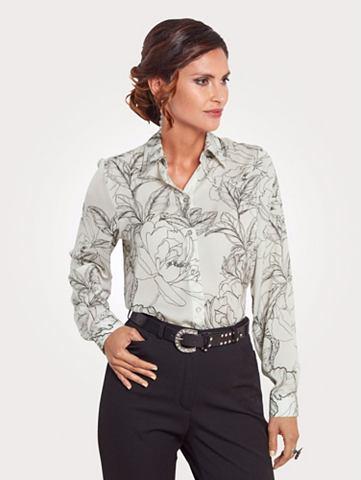 Блуза из мягкий атлас
