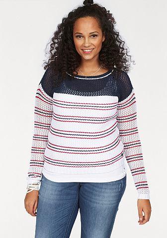 Kanga ROOS ажурный пуловер