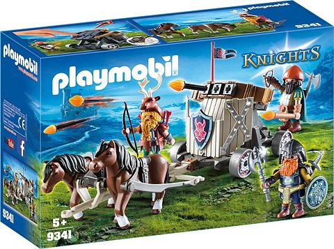 PLAYMOBIL ® Ponygespann с Zwergenballiste (9...
