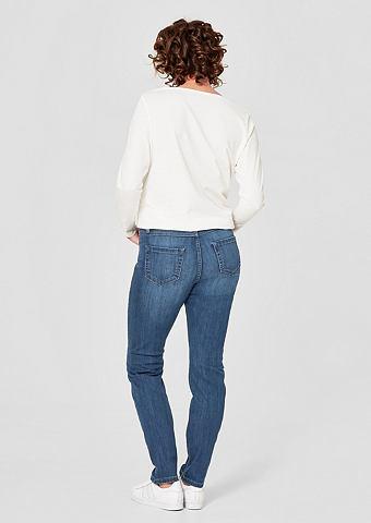 Curvy Extra Зауженные джинсы с Stitchi...