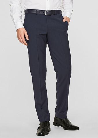S.OLIVER BLACK LABEL S.OPURE Зауженные брюки из шерстяное