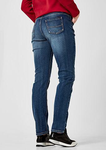 Curvy Зауженные джинсы в Used-Look
