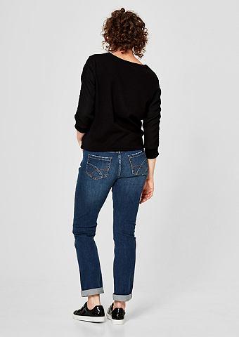 Curvy Зауженные джинсы с Destroyes