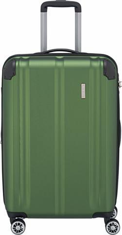 TRAVELITE Пластиковый чемодан на колесах с 4 кол...