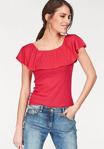 Блуза в стиле кармен