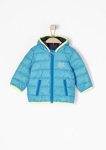 Полосатый куртка в Light Down-Optik дл...