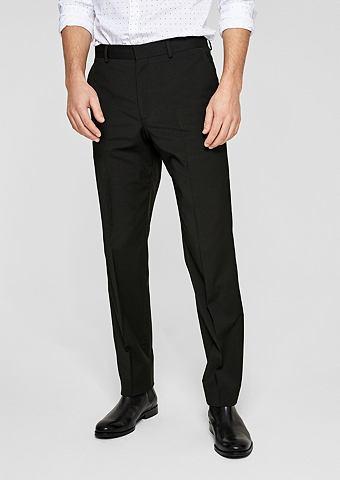 Regular: костюмные брюки с шерстяное