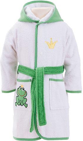 Baby/Kinderbademantel »Froschk&o...