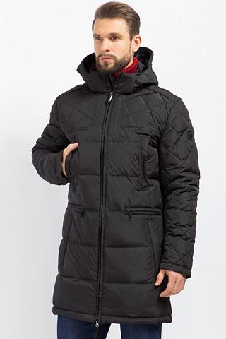 Пальто пуховое с капюшон