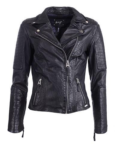 Куртка кожаная с воротник »Haya&...