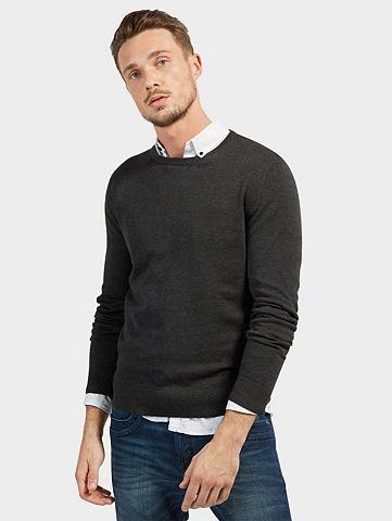 Трикотажный пуловер »Basic Stric...