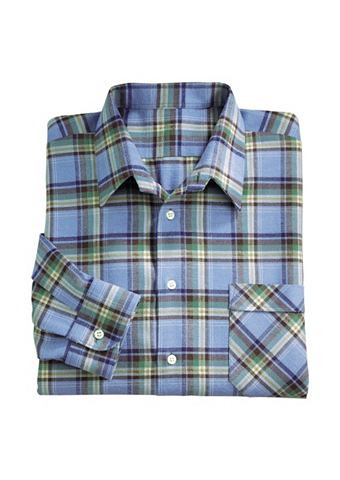 Рубашка с длинными рукавами из чистый ...