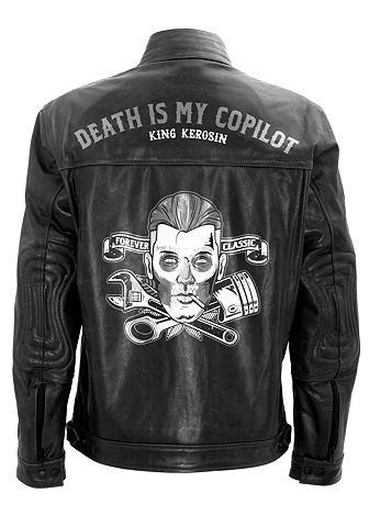 Куртка кожаная »Death is my Copi...