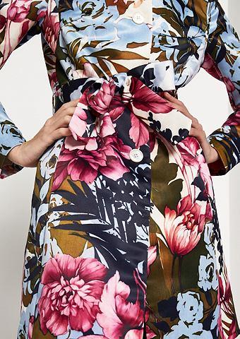 Пальто с extravagantem Floral-Alloverm...