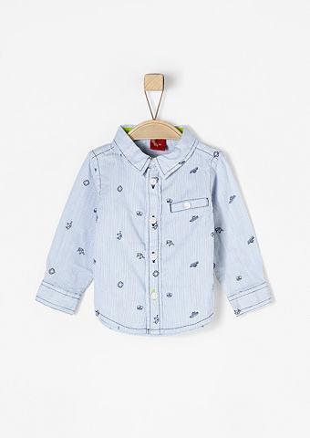 Рубашка с maritimem узор для Babys