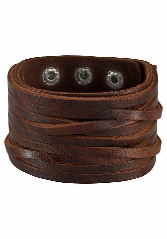 J. JAYZ J.Jayz браслет кожаный »mit Druc...