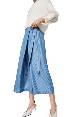 В полоску юбка-брюки