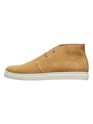 Кожаная ботинки