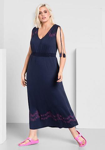 SHEEGOTIT Sheego платье-макси длинное