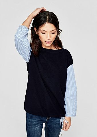 Пуловер в 2-in-1 стиль