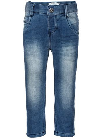 Nitbarti узкий форма джинсы