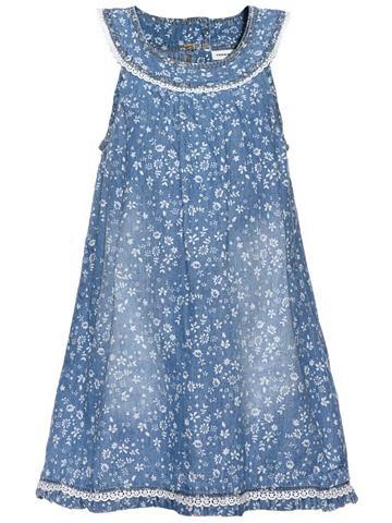 Nitabava без рукавов платье джинсовое