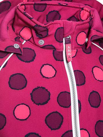 Lila gepunktete Alfa- куртка мягкая